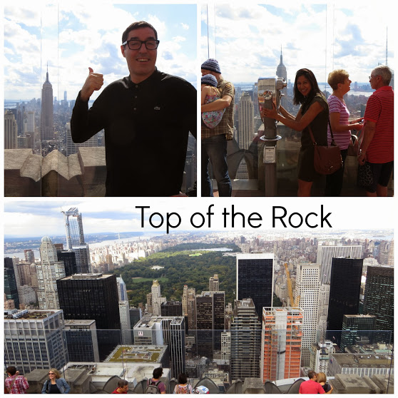 top of the rock collage
