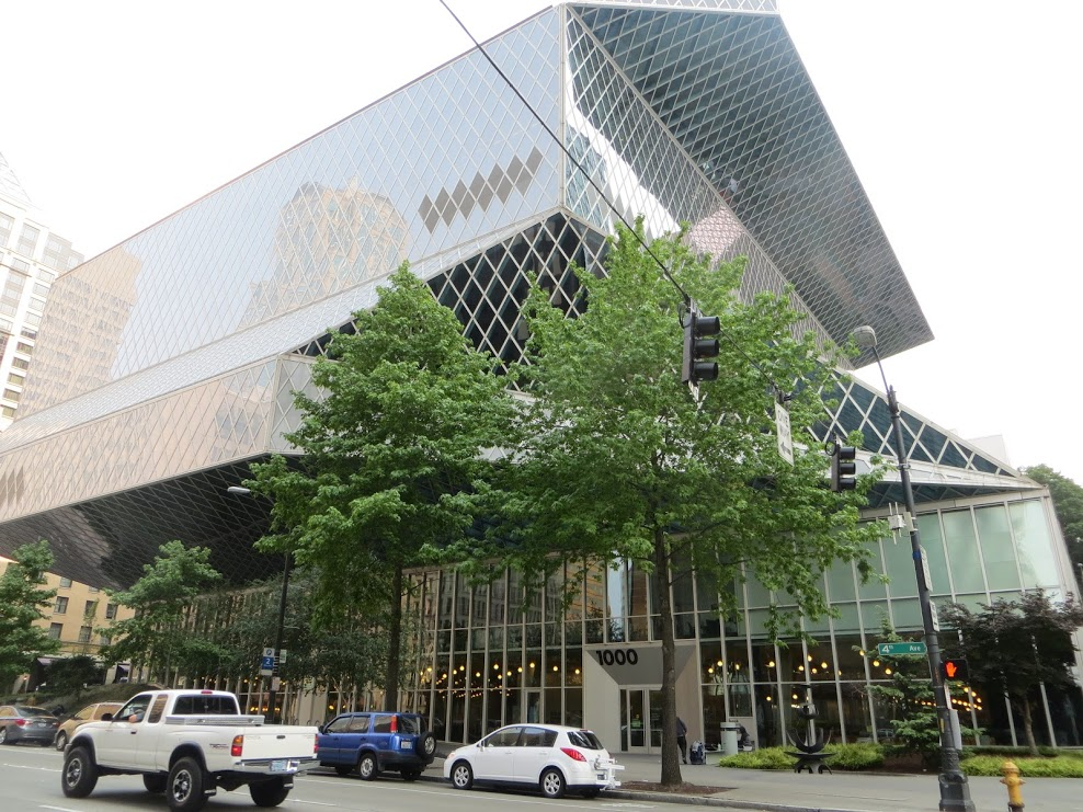 seattle library - main