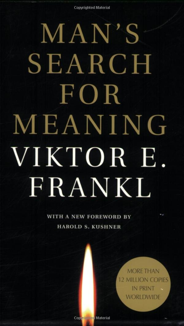 Self Help Book: Man's Search for Meaning by Viktor Frankl