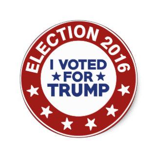 I Voted Trump!