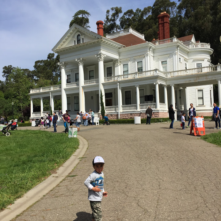 The Great Egg Hunt at the Dunsmuir Hellman Historic Estate