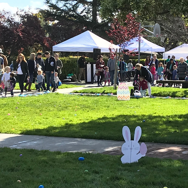 Belvedere Community Center's Bunny Hop and Egg Scramble