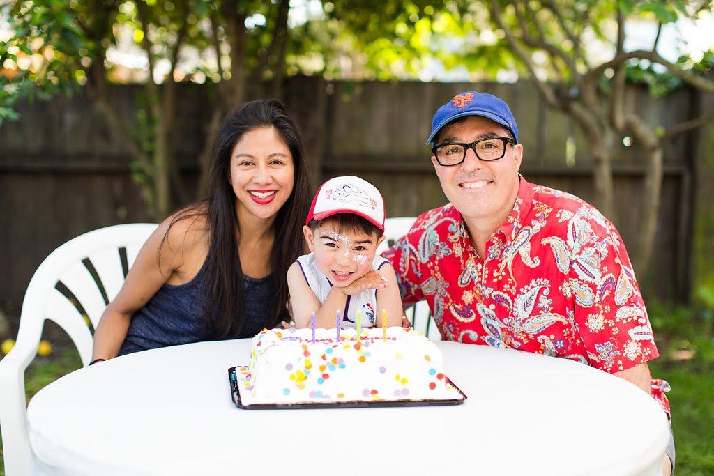 franco's 4th birthday party cake