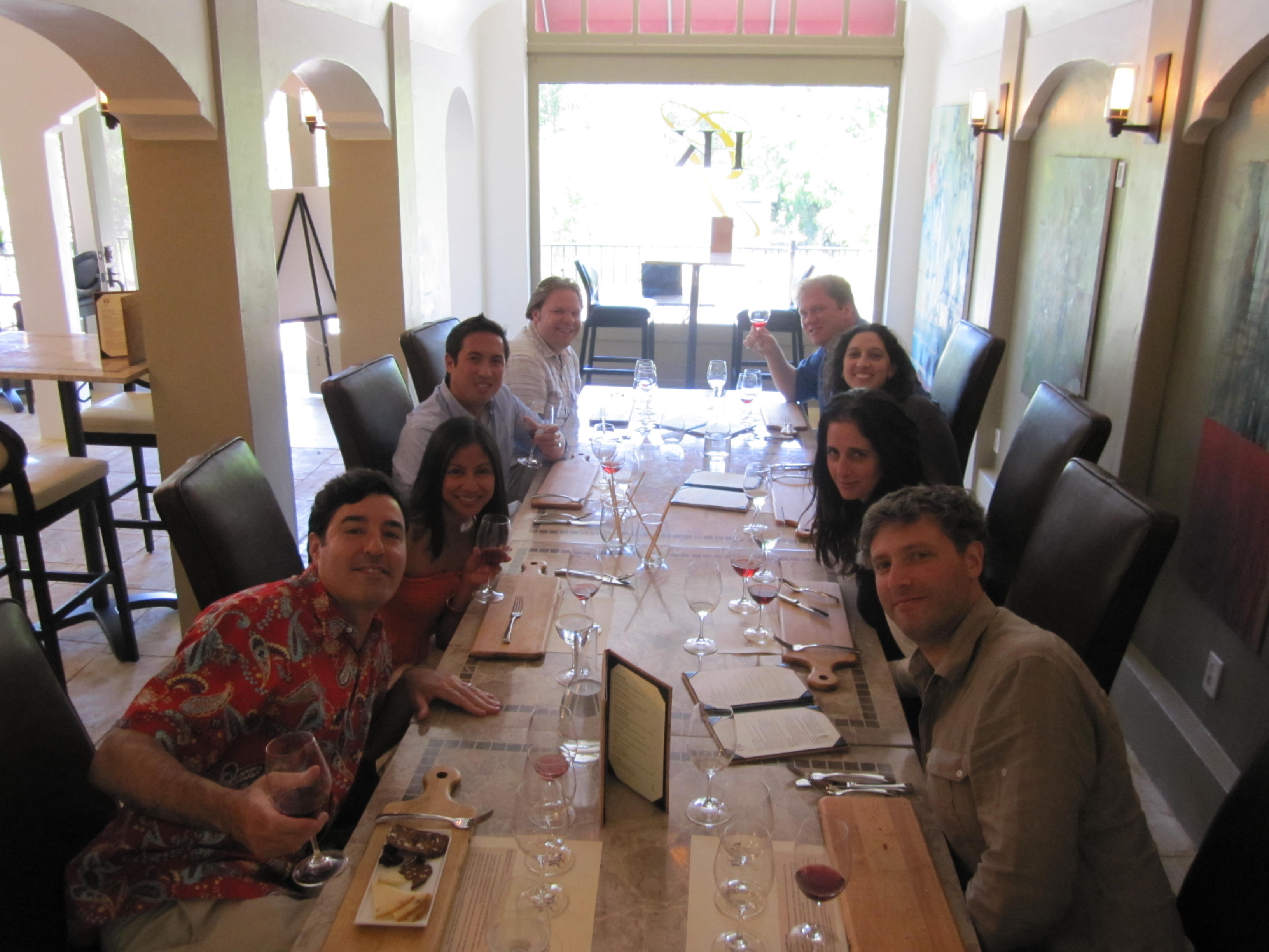 My Birthday in Wine Country