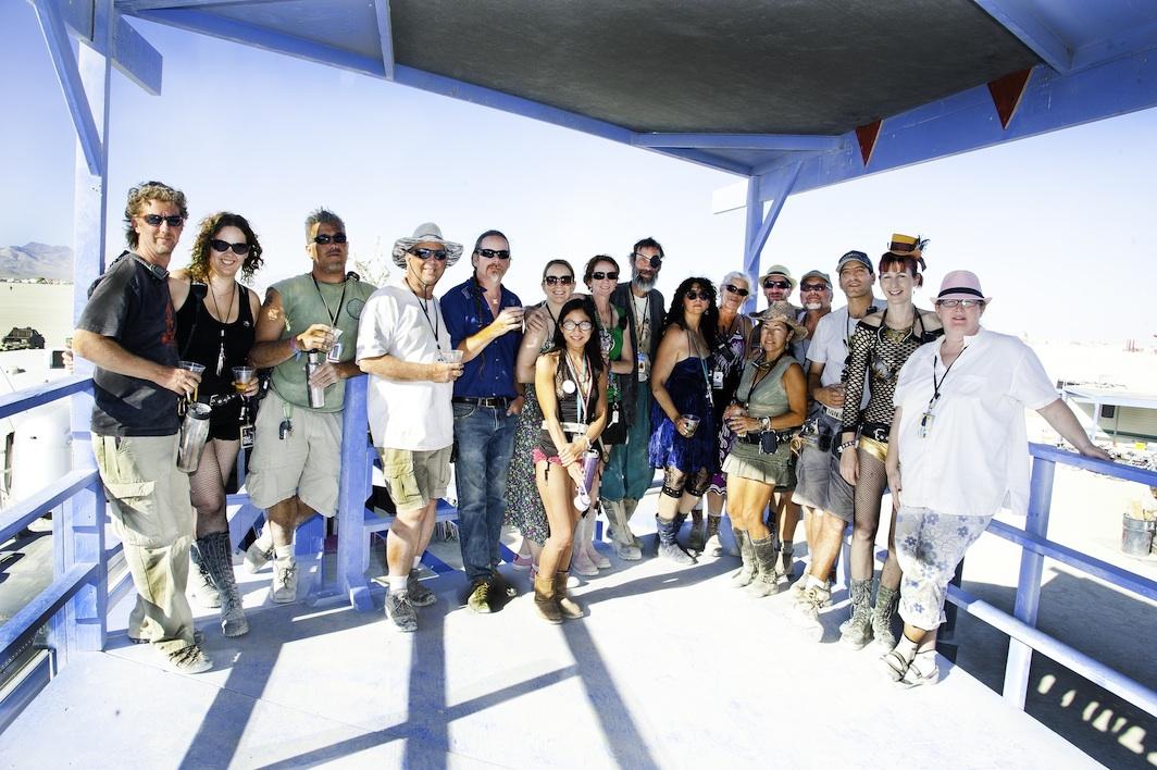 Group Photo Burning Man