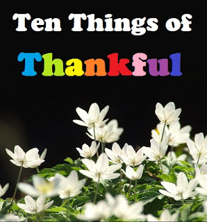 10 Things of Thankful