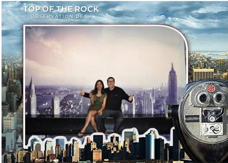 top of the rock thumbs up