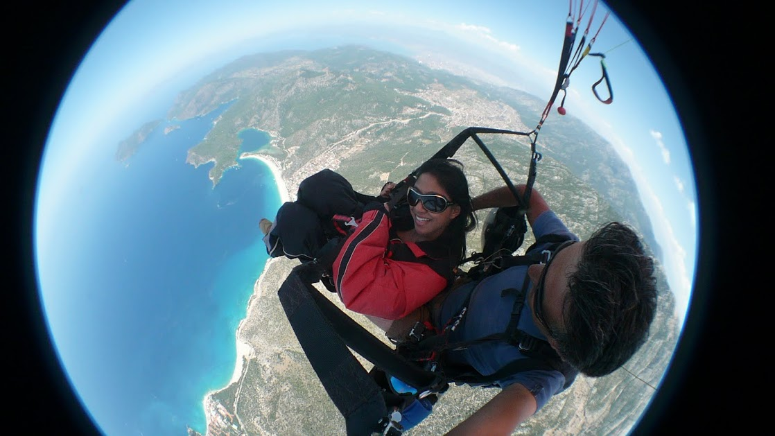 paragliding turkey