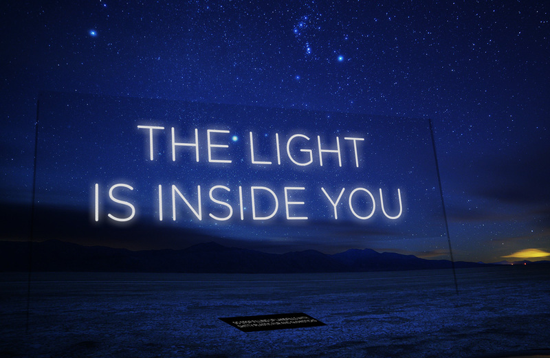 the light is inside you