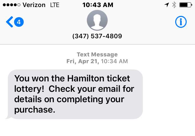 How To Win The Lottery For Hamilton Tickets - Catherine Gacad