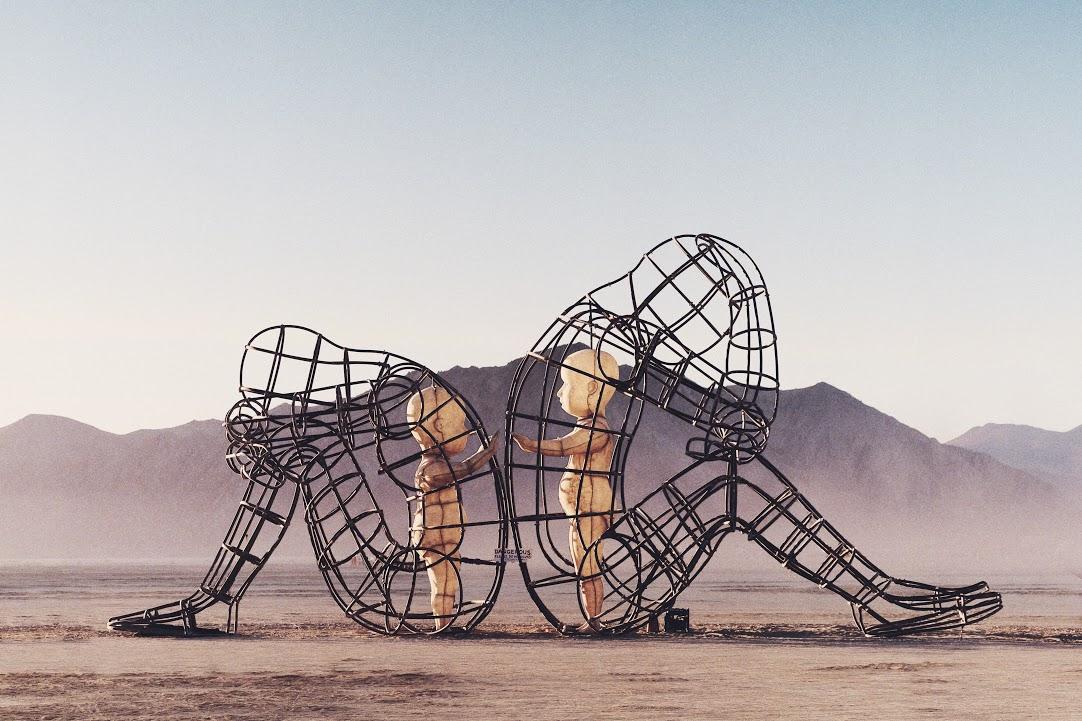 Burning Man 2007: 10 Years Ago the Man Burned Twice