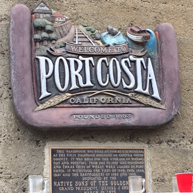 port costa sign