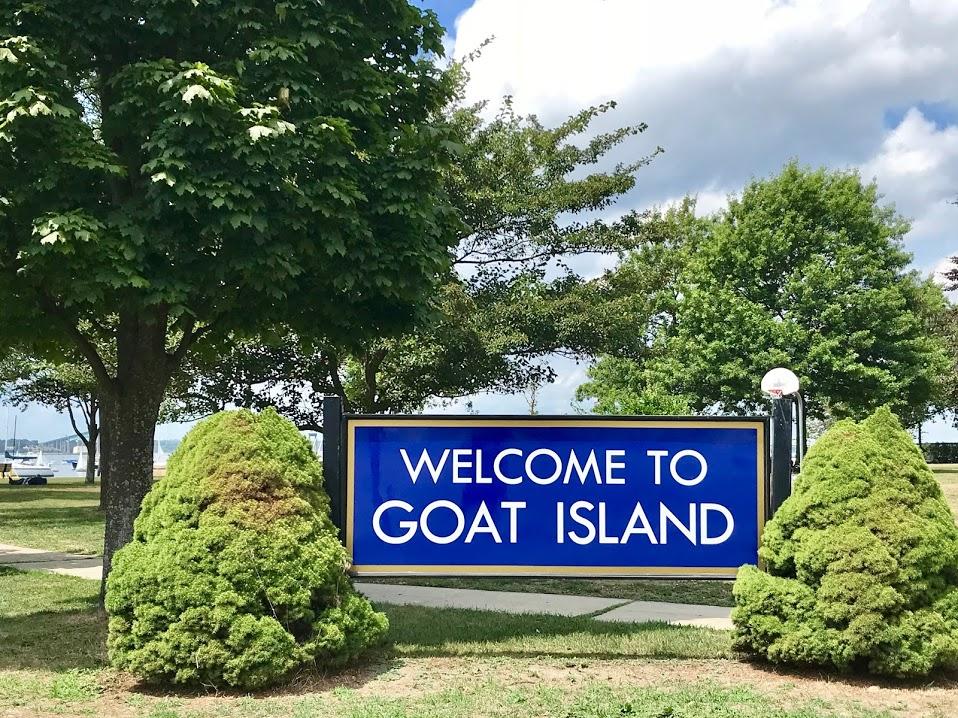 newport rhode island goat island